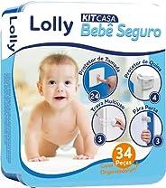 Kit Casa Bebê Seguro, Lolly, Diversas, pacote de 30