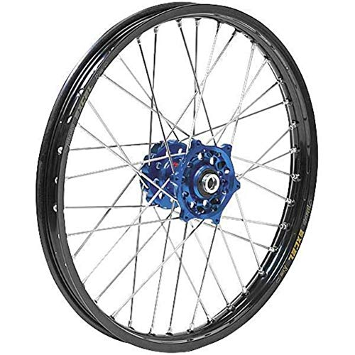 Dubya 56-3067DB Complete Rear Wheel - Blue Talon Hub/Black Excel Takasago Rim - 2.15x19
