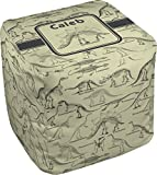 RNK Shops Dinosaur Skeletons Cube Pouf Ottoman - 13'' (Personalized)