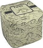 RNK Shops Dinosaur Skeletons Cube Pouf Ottoman - 13'' (Personalized)