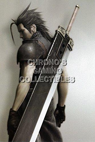 Final Fantasy CGC Huge Poster VII Advent Children Zack Fair PS1 PSP - FVII048 (24