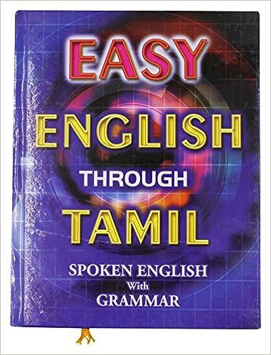 Book tamil through english spoken