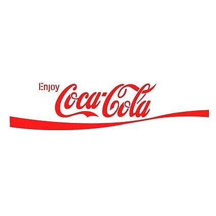 Amazon.com: J BOUTIQUE STENCILS Enjoy Coca-Cola stencil Reusable ...
