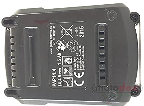 Parkside batería pap14.4 para pkga 14.4 A1 Lidl batería combinado ...