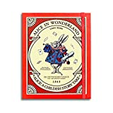 7321 design Alice's Adventures In Wonderland Cash Book Undated Planner, Hardcover 224 P