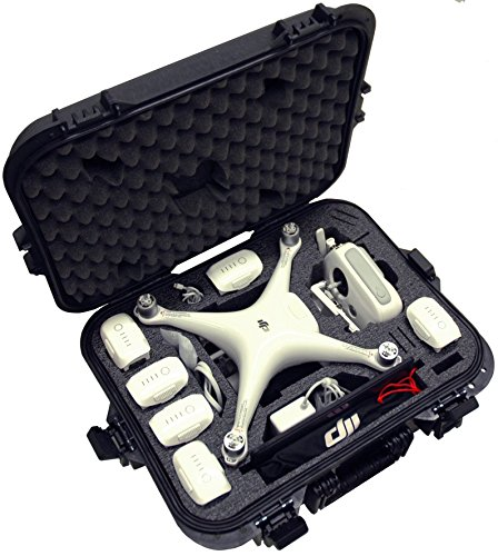 Case Club DJI Phantom 4 Waterproof Compact Drone Case by Case Club