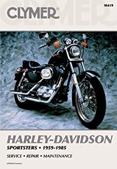 Clymer Repair Manual For Harley Sportster Xlhxlchxl 59-85 3