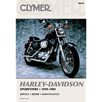 amazon com clymer repair manual for harley sportster xlh xlch xl 59 rh amazon com XLCH Sportster 1971 Harley-Davidson Sportster 900 XLCH