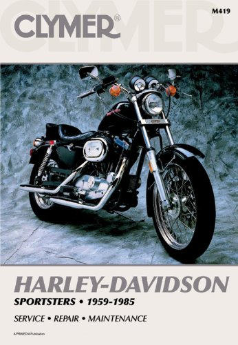 Clymer Repair Manual for Harley Sportster XLH/XLCH/XL 59-85 ()