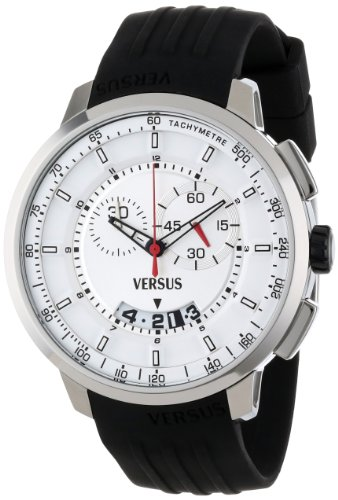 Versus-by-Versace-Mens-SGV010013-Manhattan-Stainless-Steel-Watch-with-Black-Rubber-Band