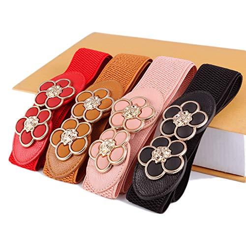 stagioni pelle Marrone Vestaglia Cintura le in donna a Rosso Vestaglia polvere adatto Accappatoio tutte alla elasticizzato tessuto DWUN perfetto Caestus Cappotto non Y63 di in moda Ff4P1nfa