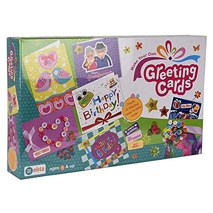 Buy v shine diy kit of greeting cards decoration material to make v shine diy kit of greeting cards decoration material to make your own greetings kits for m4hsunfo