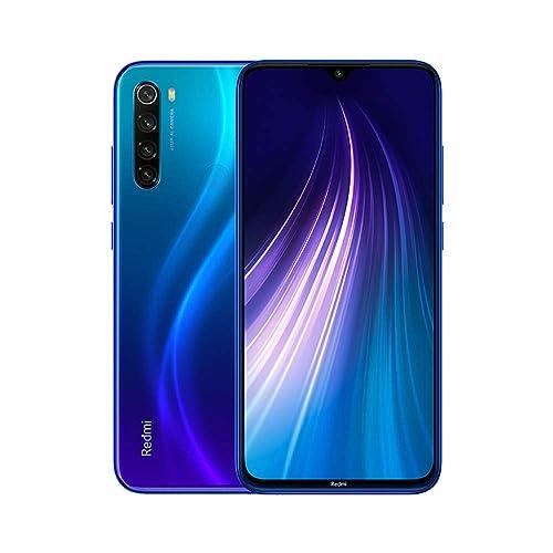 Xiaomi Redmi Note 8 Smartphone 4GB 64GB Mobilephone Pantalla Completa de 6 3 Procesador Snapdragon 665 Octa Core Carga Rápida de 4000 mAh Quad Cámara 48MP 8MP 2MP 2MP Versión Global Azul
