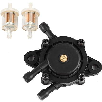 Amazon com : Fuel Pump Fuel Filter fit Kohler 17HP-25 HP