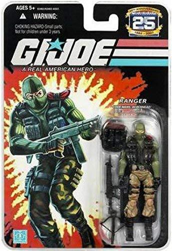 G.I. Joe 25th Anniversary: Beachhead (Ranger) 3.75 Inch Action - Figure Gi Joe Part