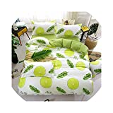 Bedspread 4pcs/Set bedspreads 2pcs Pillowcase King Queen Twin Full Size Duvet Cover Air Conditioner Blanket,Dark Gray,120CM,150CM,Yellow