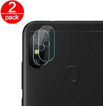 2X Cristal Templado para Lente Cámara de Xiaomi Redmi Note 6 Pro ...