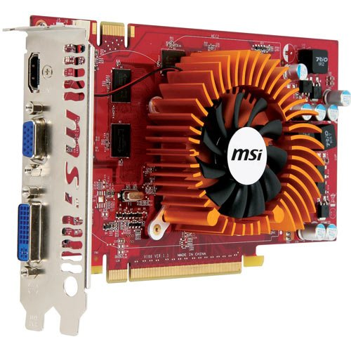 Photo - MSI nVidia GeForce 9800GT 1 GB DDR3 VGA/DVI/HDMI PCI-Express Video Card N9800GT-MD1G