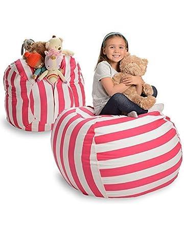 2e6fe814f2f0a0 EXTRA GROẞER Sitzsack - Stausack Bean Bag für Stofftiere mit Abdeckung von  Smith - Räumen