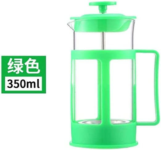SEESEESEESEEUU - Maceta de plástico para cafeteras y cafeteras de café o cafetera, color rojo: Amazon.es: Hogar