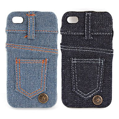337dc357c96b44 Buy Jeans Cover Hard Case for iPhone 4   4S