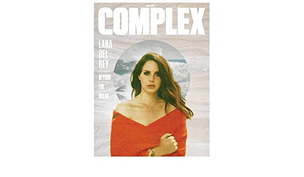 Complex Magazine Augustseptember 2014 Lana Del Rey Cover Marc