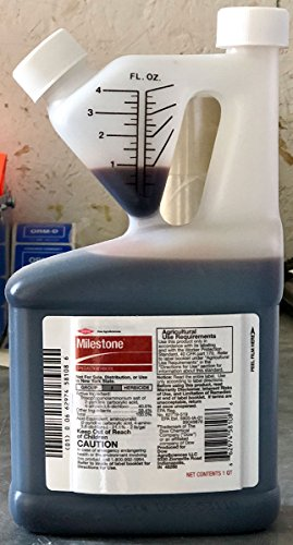 Milestone Specialty Herbicide With Aminopyralid For Noxious And Invasive Weeds Quart 6666085