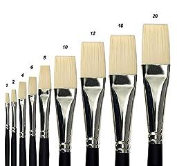Creative Mark Pro Stroke Powercryl Ultimate Professional Artist Acrylic Paint Brush- Flat 16
