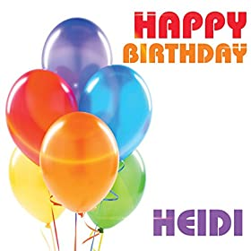 Amazon.com: Happy Birthday Heidi: The Birthday Crew: MP3 ...
