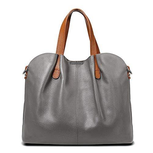 Female Leather Baotou Handbag Shoulder Mother Fashion Layer A Cowhide Oblique Hongge Baotan q5tHESvv
