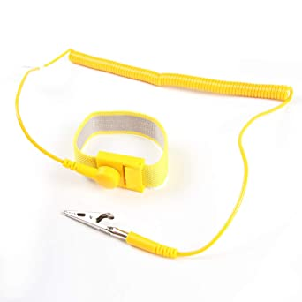 Hand & Power Tool Accessories Professional Sale Power Tool Accessories Anti Static Esd Strap Wrist Strap For Working On Electric Devices With Grounding Wire And Alligator Clip Selected Material Back To Search Resultstools