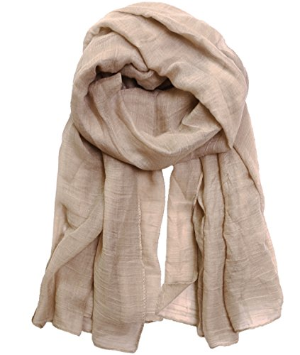 KMystic Large Plain Solid Viscose Scarf  - Brown Viscose Scarf Shopping Results