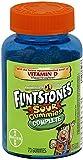 Flintstone Sour Gummies 7 Size 70ct Flintstone Sour Gummies 70ct