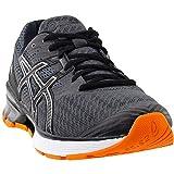 ASICS Gel1 Shoe Mens Running 11.5 Dark Grey-Black-Orange Larger Image