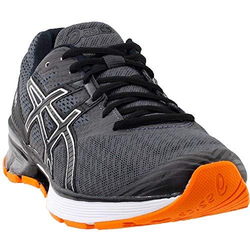 ASICS Gel1 Shoe Mens Running 11 Dark Grey-Black-Orange