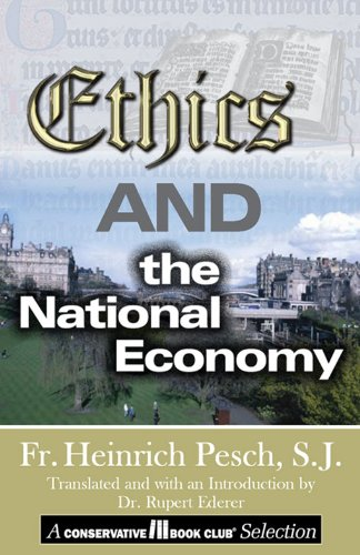 Ethics and the National Economy Pdf