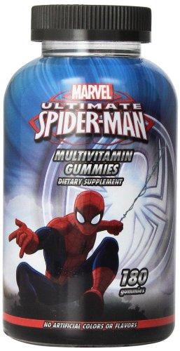 Disney multivitamines Gummies, Marvel Spiderman, 180 comte