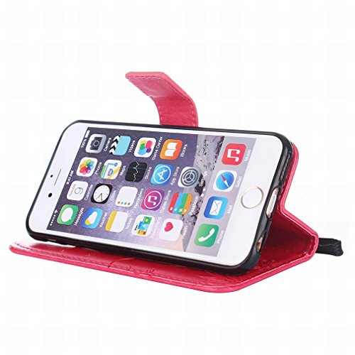 Yiizy handyhülle Apple IPhone 6 Plus / IPhone 6s Plus hülle, Sonnenblume Tasche Leder Schutzhülle PU Ledertasche Bumper Schutz Flip Cover Case Magnet Beutel Klappe Silikon Gummi huelle Schale Stehen K