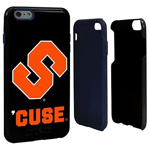 NCAA Syracuse Orange Hybrid Case for iPhone 6 Plus, Black, One Size from Guard Dog