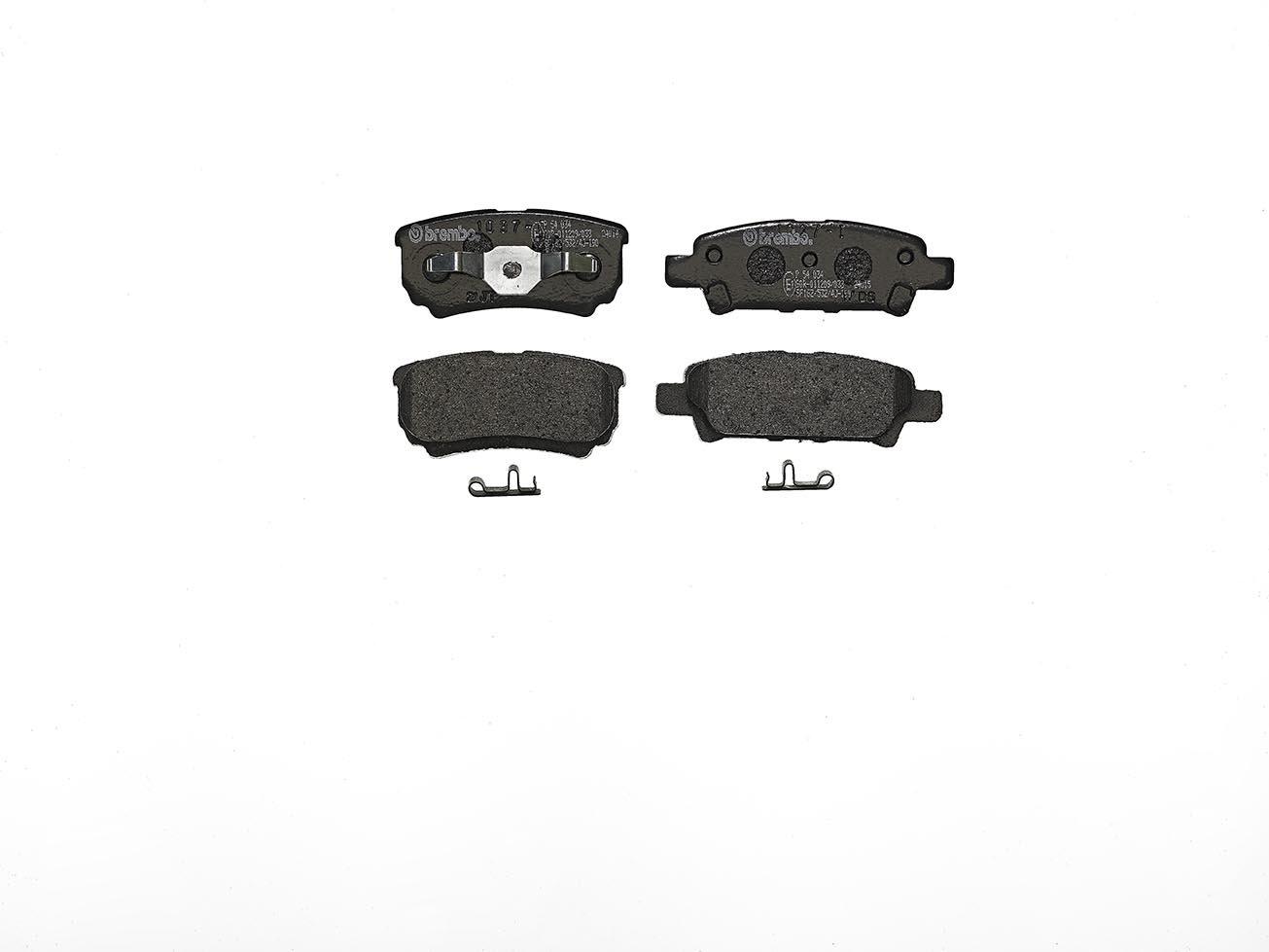 Brembo P54034 Rear Disc Brake Pad - Set of 4