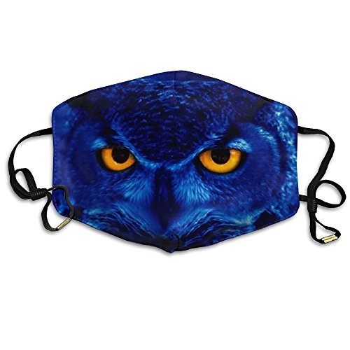 Owl Yellow Eyes Breathable Seamless Face Mask,Dust-proof for sale  Delivered anywhere in USA