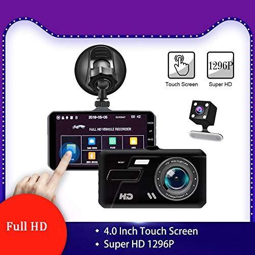 """ダッシュカム、4.0"""" LCDディスプレイナイトビジョンモーション検知やGセンサーと広角WDR車170のための1080PのフルHD車のカメラDashcam"""