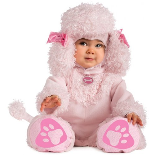 (Rubie's Cuddly Jungle Pink Poodles Of Fun Romper Costume, Pink, 12-18)