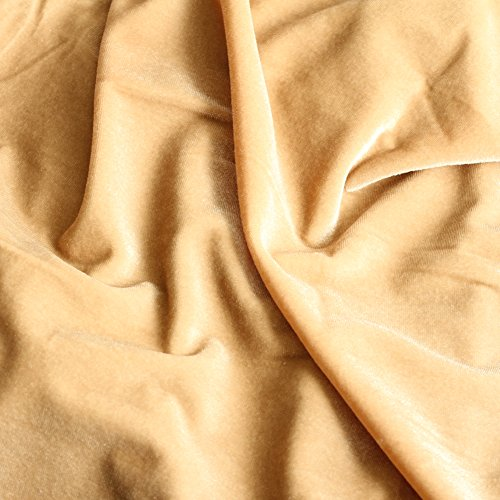 Koyal Wholesale Velvet Table Runner 19 x 120-Inch Extra Long Table Runner, Farmhouse Table Runner, Velvet Tablecloth, Velvet Linen (19 x 120-Inch, Champagne)