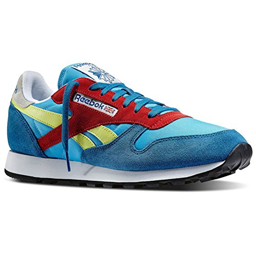 Reebok - Classic Sport Bluepersian - Color: Blue-Red-Yellow - Size: 9.0