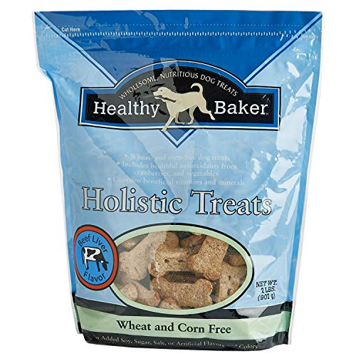 (MPP Healthy Holistic Dog Treats Biscuits Natural Ingredients 2lb Bag Choose Flavor (Beef)