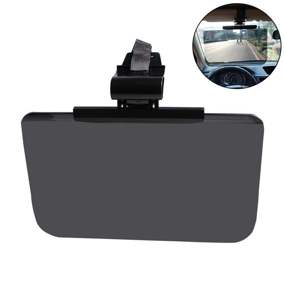 Aolvo Car Sun Visor Anti Glare Visor for Car Day and Night Anti-Glare Visor Sun Visor Extender Windshield Driving Visor Car Goggles Universal Sunshade Mirror Goggles Shield