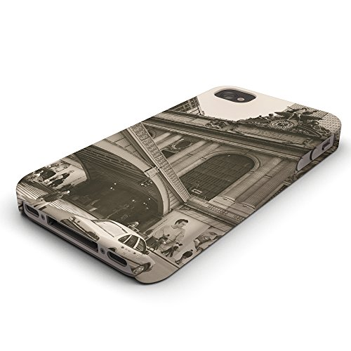 Koveru Back Cover Case for Apple iPhone 4/4S - Monument and Bridge