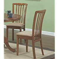 Dining Chair in Oak - Set of 2