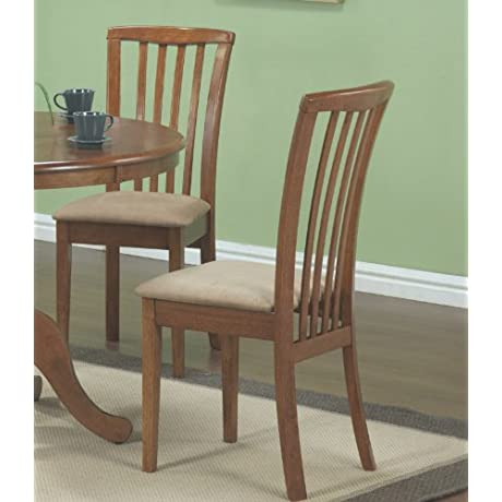 Dining Chair In Oak Set Of 2